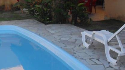 House with pool for rent on the beach of ARUAN