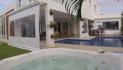 Furnished house w/3/4 season on the beach in Aracaju