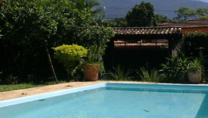 House with swimming pool and Barbecue in Ilhabela