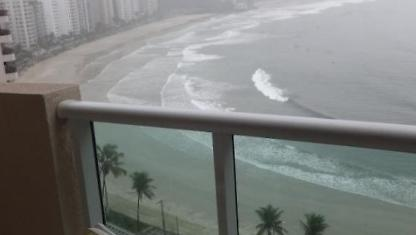 Apartamento frente al mar Guarujá