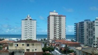 Apt 2 rooms, 2 blocks from the beach, vista w/the sea
