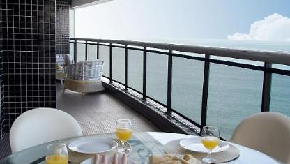 Lan1109 luxury apartment in the best of Fortaleza